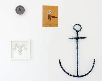 vintage denim anchor
