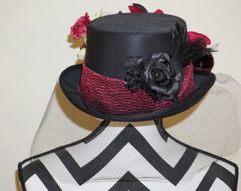 Plumb Top Derby Hat