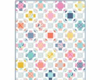 "Early Bird Nest Quilt Kit designed by Kate Spain for Moda Fabrics, 63"" x 81"" when finished"