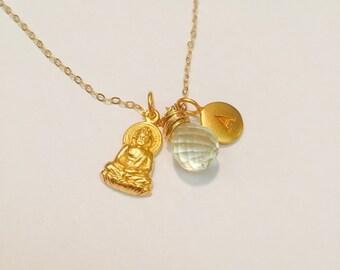Little Buddha Charm Necklace