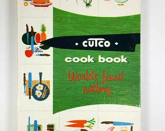 Vintage CUTCO Cook Book - World's Finest Cutlery Cookbook - Volume One, 1961 - Cookbook for meats and poultry