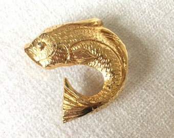 Koi Fish Brooch