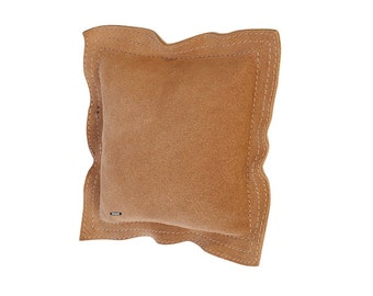 "Leather Sandbag 7"" Square Chasing Anvil Bench Block Jewelry Dapping Metal Stamp WA 412-449"