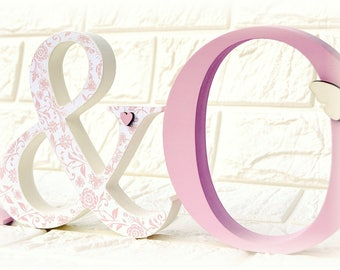 Freestanding Couples Letters