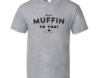 Seinfeld - Top Of The Muffin To You! T-shirt - Vintage Style Logo Shirt - Small - 5xl - Unisex