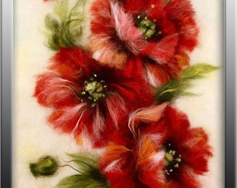 """Beatiful painting """"Red poppies"""""""