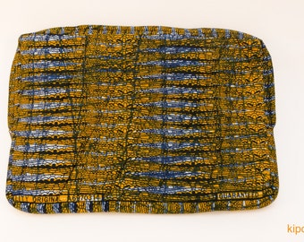13 inch laptop sleeve, laptop sleeve from Tanzania, handmade, fair trade, Africa