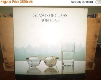 Save 30% Today 1981 Vinyl LP Record Yoko Ono Season of Glass Excellent Condition 4682
