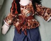 Native American Rag Doll - Male