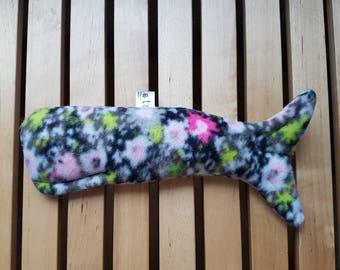 Whale Catnip Kitty Kicker Toy cat toy uk