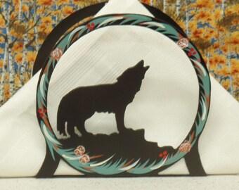 Wolf Napkin Holder - Wolf Letter Holder