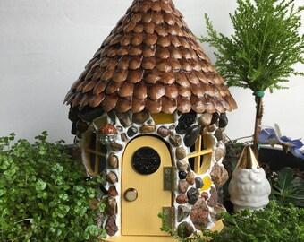 Fairy House, Fairy Garden House, Happy Cottage