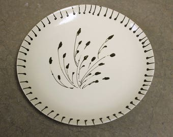 Willow Collection Stoneware/Tabletop Set of 4 Dinner Plates