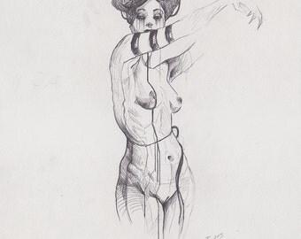 JUNE / Original Drawing