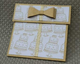 Personalized Gift Card Holder - Also works great with money!  (GC0029)