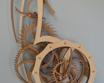 Tranquility Wooden Clock Kit