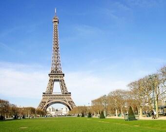 Eiffel Tower, Paris France, Black & White Paris, Paris Photography, Eiffel Tower print, Paris Photographic Print