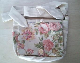 Floral/cream BerryBags babywearing bag