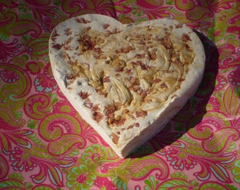 Heart Marshmallow Love Me Tender Elvis anniversary gift peanut butter candy bacon banana large marshmallow special occasion birthday gift