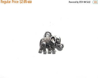 HALF PRICE 10 Silver Elephant Charms