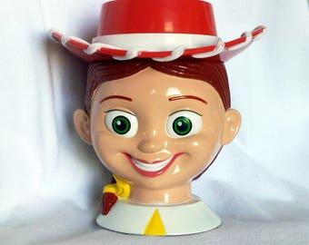 """Jesse from """"Toy Story"""", Disney on Ice Souvenier Mug, Disney Cup, Jessie"""