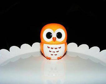 Cute Orange Owl Lip gloss