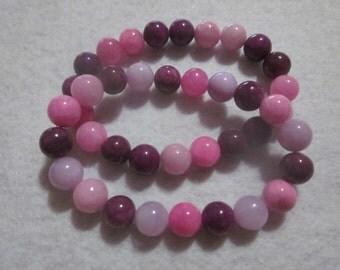 Pink Purple & Lavender Bracelet Set