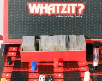 Whatzit? A Game by Milton Bradley