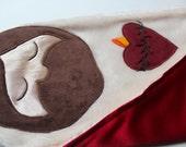 Sacred Heart Lovey Mini Blanket