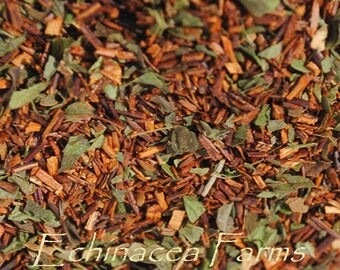 ROOIBOS PEPPERMINT Tea * Loose Leaf* 1 oz. African Red Bush All Natural