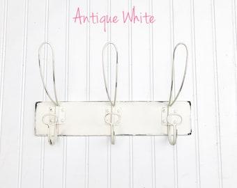 Coat Rack - Coat Hooks - Triple Hooks -  Entry Way Hook - Vintage Hooks - Primitive Hooks - Farmhouse Hooks - Joanna Gaines Inspired Hook