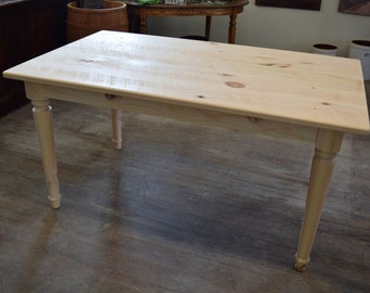 Farm Dining Table | Unfinished