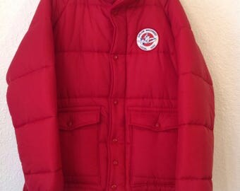 King Louie Puffer Jacket  size Medium