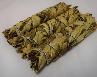 "Yerba Santa Smudge Incense 8""-9"" Bundle (3 pcs)"