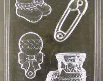 Assorted Baby Items chocolate mold (ao389)