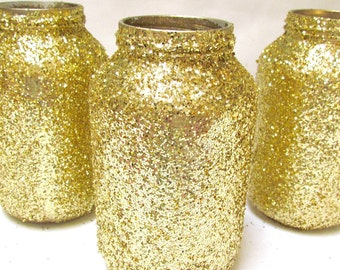 Wedding Decorations Centerpieces Glitter Jar, Pick your size and colors, Wedding, Children Birthday, Bridal Shower, Rehearsal dinner