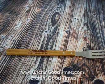 BBQ Fork - Personalized Grill Master Grill Fork, meat fork,BBQ fork, BBQ Tools, Mothers day  Fathers day, Groomsmen