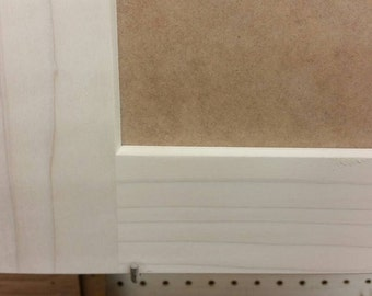 "Custom Shaker Style Cabinet Door, Stock pricing. Paint Grade and ""made to order"""