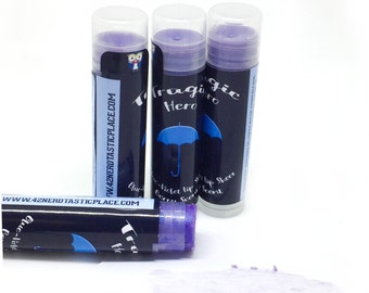 Rave Makeup, All Natural Blue Lip Sheer, Tragic Hero Lip Tint, Berry Lip Balm, Geek Lip Gloss, Paraben Free, Book Lover Gift