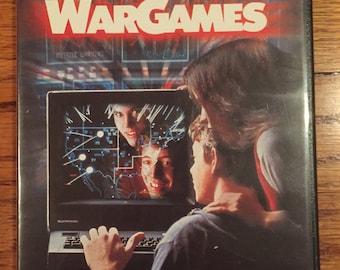 Vintage 80's War Games Matthew Broderick Hacker DVD Video