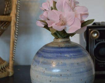 Small Ceramic Bud Vase • Planter