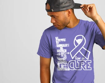 Anorexia, Eating Disorder, Hypertension, Stomach Cancer, Esophageal Cancer, Hodgkins Lymphoma, Periwinkle, Awareness Ribbon Shirt