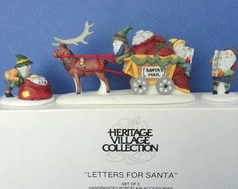 Dept 56 Letters For Santa North Pole Retired Accessory