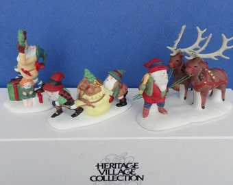Dept 56 Santa's Little Helpers NP Accessories