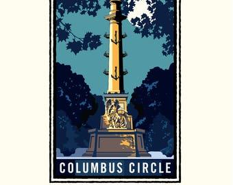 Landmark NY | Columbus Circle by Mark Herman