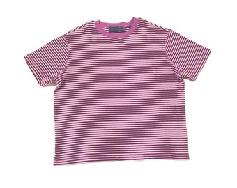 Vintage Purple Stripped Tee