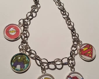 Superhero inspired bracelet