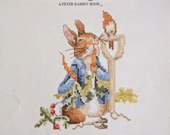 Beatrix Potter ~ The Tale of Peter Rabbit ~ Counted Cross Stitch Pattern Book ~ Green Apple BK.549