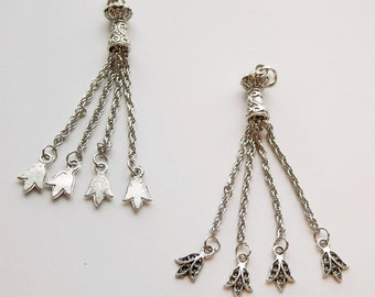 1 Metal Chain Tassel, 3 Different Designs