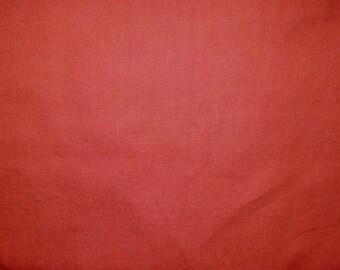 Fabric - 100% Linen - Terracotta